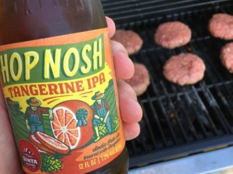 Review: Hop Nosh Tangerine IPA By Uinta Brewing Co.