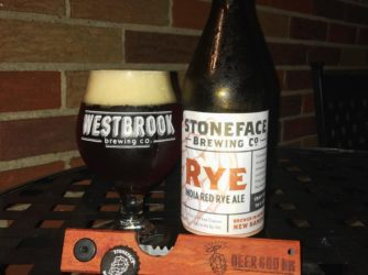 Review: India Red Rye Ale by Stoneface Brewing Co.