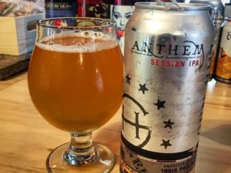 Review: Anthem Session IPA by Gun Hill Brewing Co.
