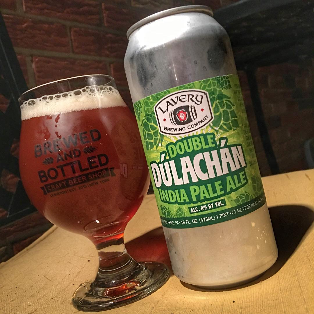 That Double Dulachan though. (Or should I said #datdoubledulachan ) Tons of hops and malts in this. Lots of flavor. Still surprisingly balanced. @laverybrewingco
