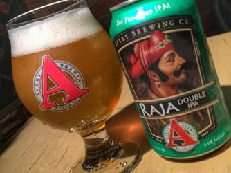 Review: Raja Double IPA by Avery Brewing Co.