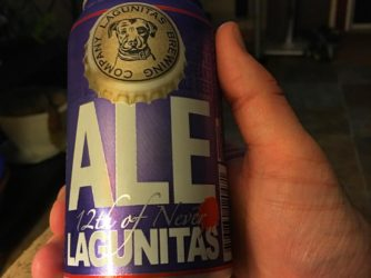 Review: 12th of Never Ale by Lagunitas Brewing Co.