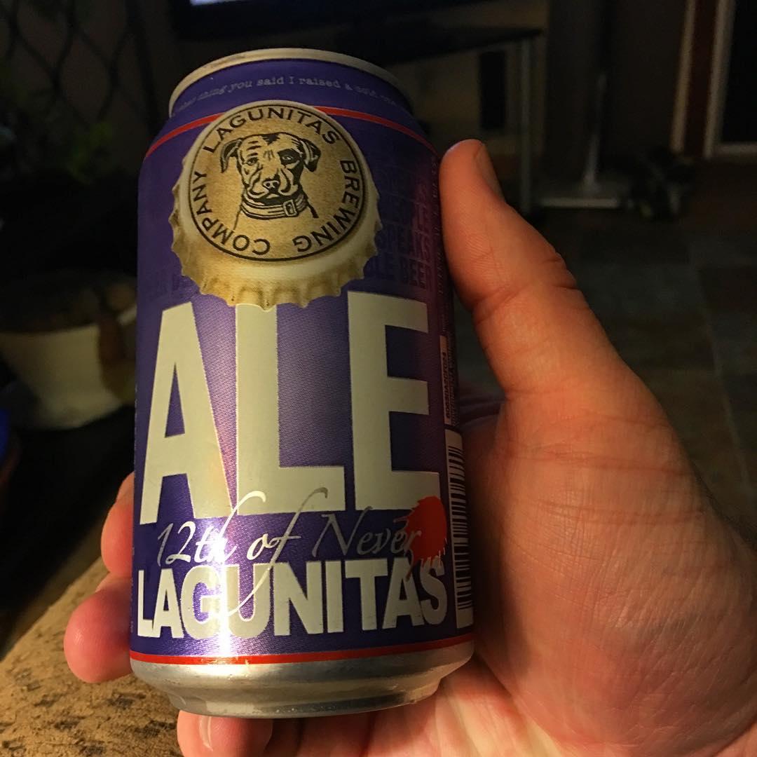 @lagunitasbeer 12th of Never Ale