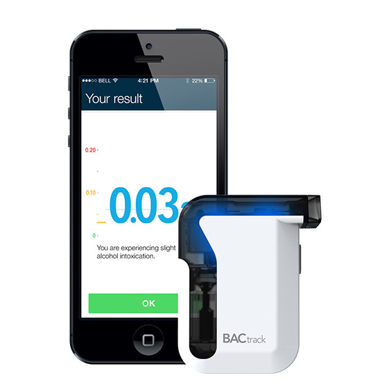 Product Review: BACtrack Mobile Breathalyzer by @BACtrack