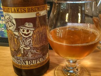 Review: Saison DuPump by Great Lakes Beer