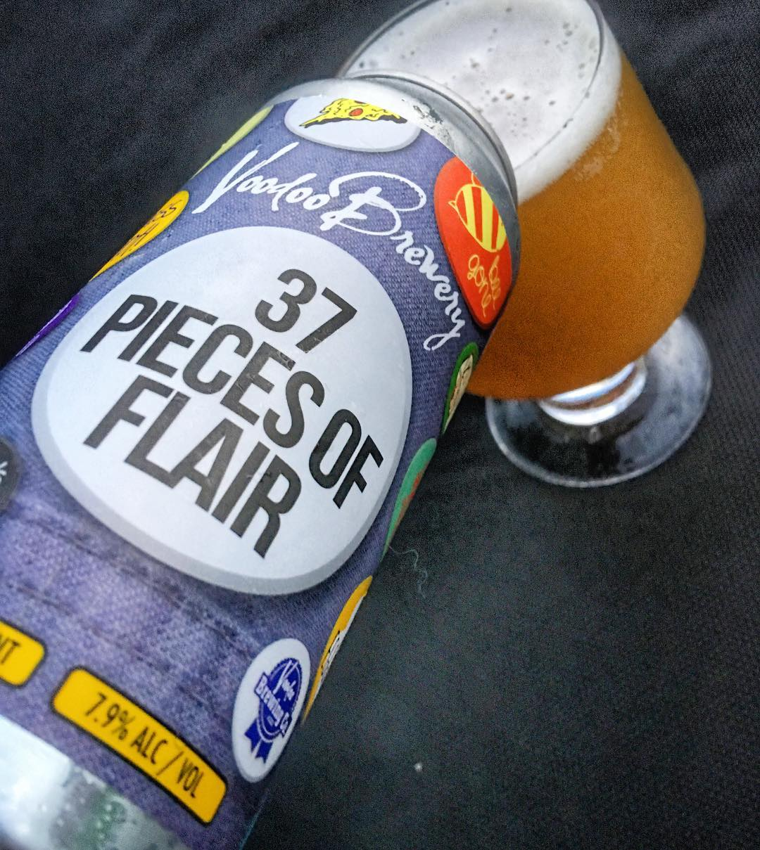 @voodoobrewery 37 pieces of flair IPA