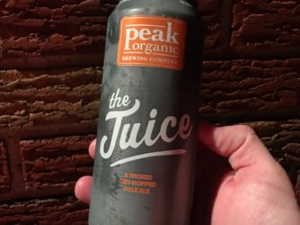Review: The Juice by Peak Organic Brewing Co.