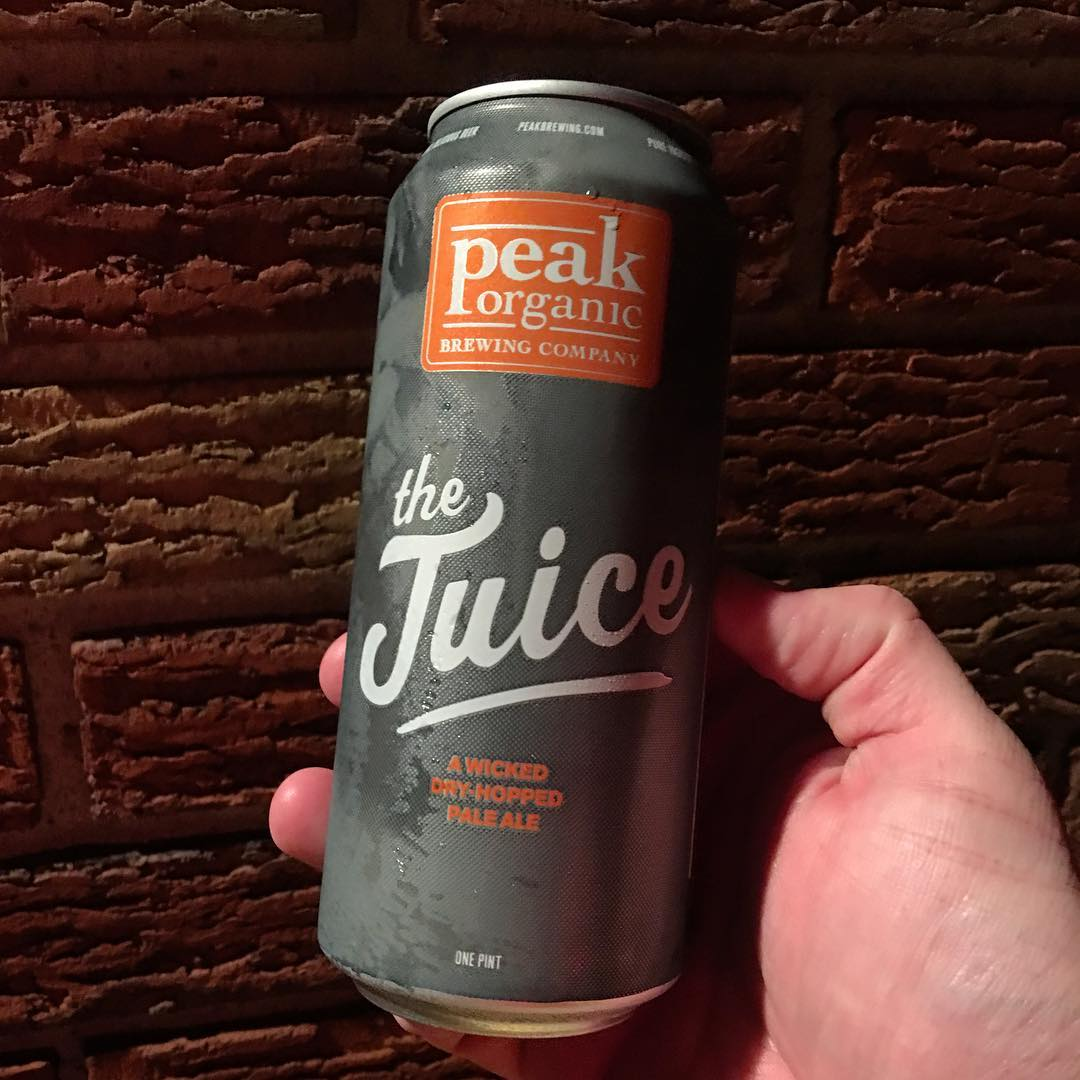 @peakbrewing The Juice Dry Hopped Pale Ale