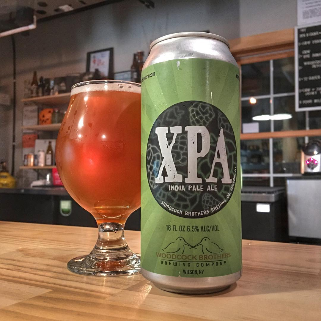 @woodcockbrothers_brewing XPA 8.0 - Lots of lemongrass. It has a lot of resinous pine in the start and if finished with some a lot of citrus.