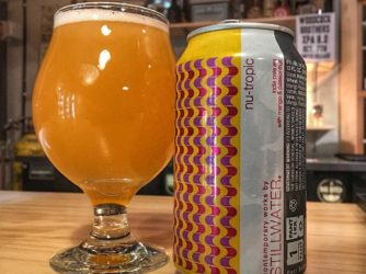 Review: Nu-Tropic IPA w Mango and Passionfruit by Stillwater Artisanal Ales