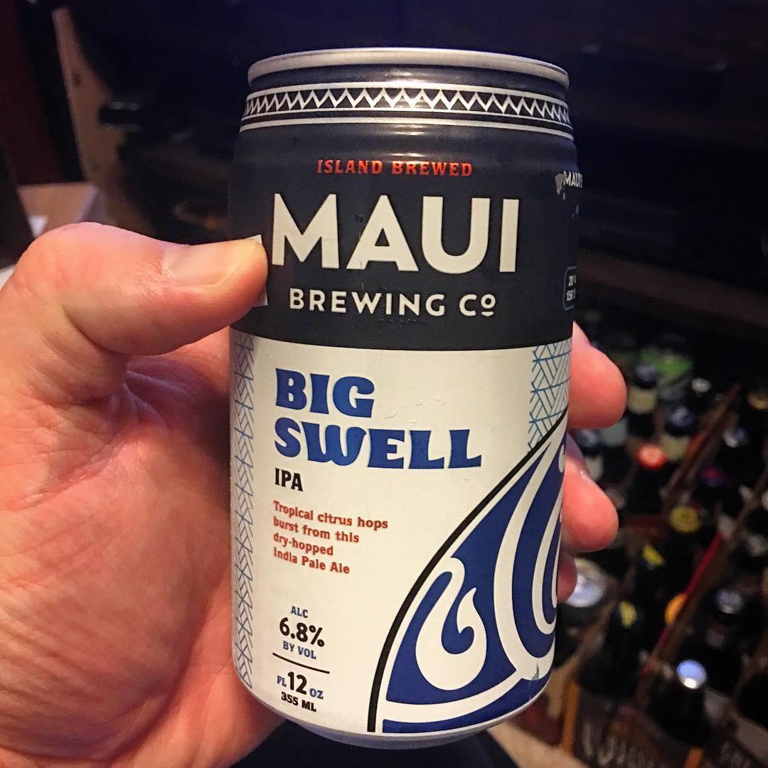 @mauibrewingco Big Swell IPA