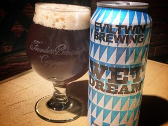 Review: Wet Dream Brown Ale Brewed w Coffee by Evil Twin Brewing