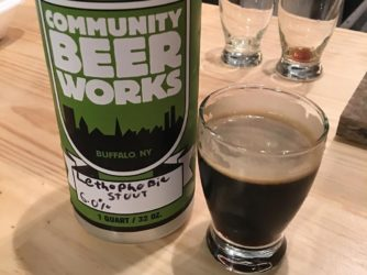 Review: Lethophobic Stout by Community Beer Works