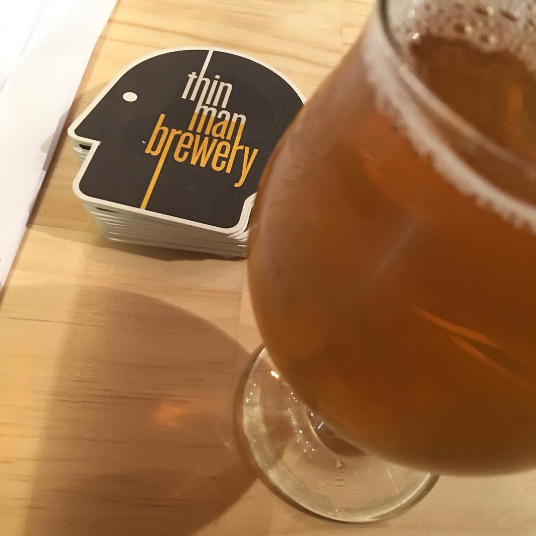 Awesome #taptakeover by @thinmanbrewery at @brewedbottled tonight. I loved Bliss DIPA