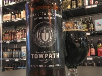 Review: Bourbon Barrel Aged Towpath Imperial Stout by Big Ditch Brewing Co.