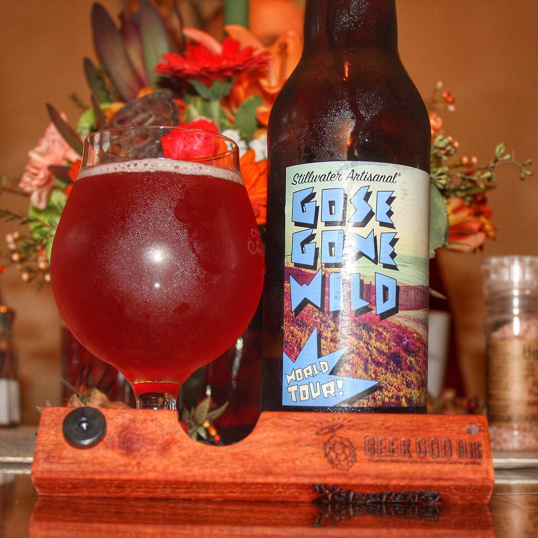 @stillwater_artisanal Gose Gone Wild World Tour (Tijuana) - just fantastic. And look at the color on that.
