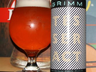 Review: Tesseract Double IPA by Grimm Artisanal Ales