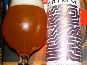 Review: Awoogah IPA by Grimm Artisanal Ales