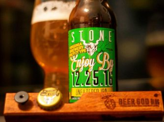Review: Enjoy By 12.25.16 Unfiltered IPA (Virginia Brewery Prototype) by Stone Brewing Co