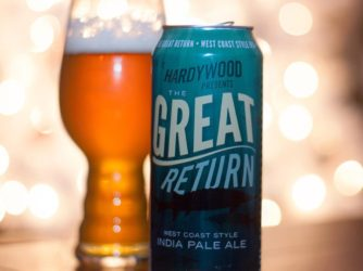 Review: The Great Return West Coast IPA by Hardywood Brewing Co