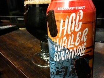 Review: Hogwaller Scramble Breakfast Stout by Champion Brewing Co