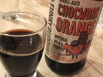 Review: Barrel Aged Chocwork Orange Imperial Milk Porter by Funky Buddha Brewery