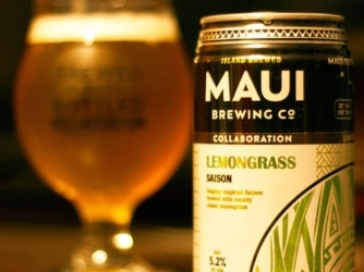 Review: Lemongrass Saison by Maui Brewing Co (and The Lost Abbey)
