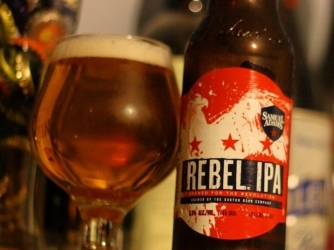 Review: Samuel Adams Rebel IPA (New Recipe) by Boston Beer Co
