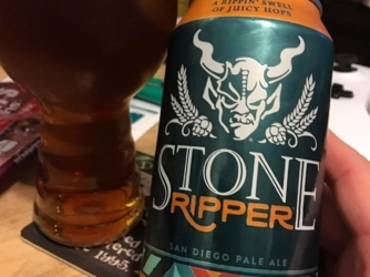 Review: Ripper San Diego Pale Ale by Stone Brewing Co