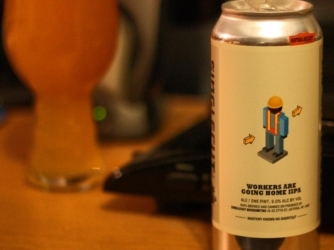Review: Workers Are Going Home IIPA by Singlecut Beersmiths