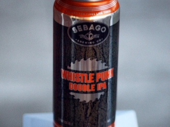 Review: Whistle Punk Double IPA by Sebago Brewing Co