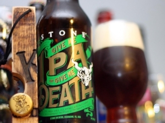 Review: Give Me IPA or Give Me Death by Stone Brewing Co