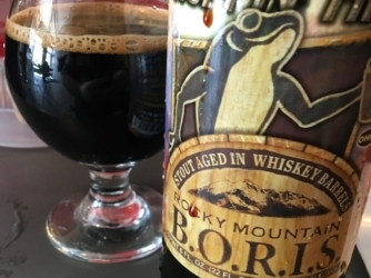 Review: Rocky Mountain B.O.R.I.S. by Hoppin' Frog Brewing Co