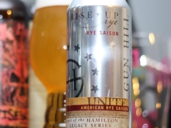 Review: Rise Up Rye Saison by Gun Hill Brewing Co