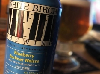 Review: Blueberry Berliner Weisse by White Birch Brewing Co.