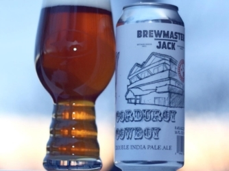 Review: Corduroy Cowboy DIPA by Brewmaster Jack