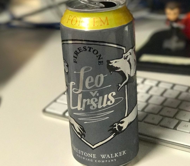 Review: Leo v. Ursus: Fortem IIPA by Firestone Walker Brewing Co.