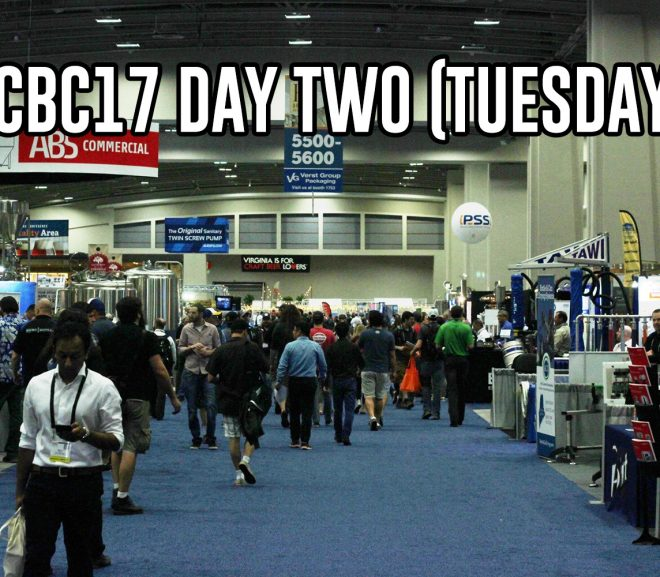 #CBC17 Day Two (Tuesday) — 2oz pours and lots of walking