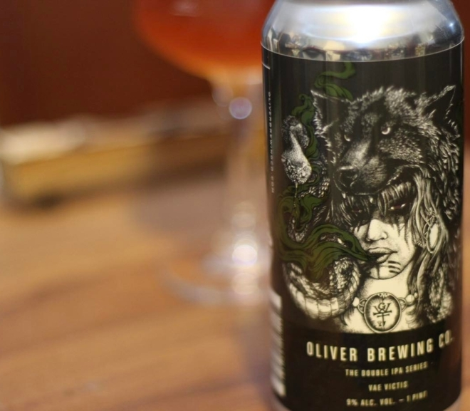 Review: Vae Victis (Double IPA Series) by Oliver Brewing Co.