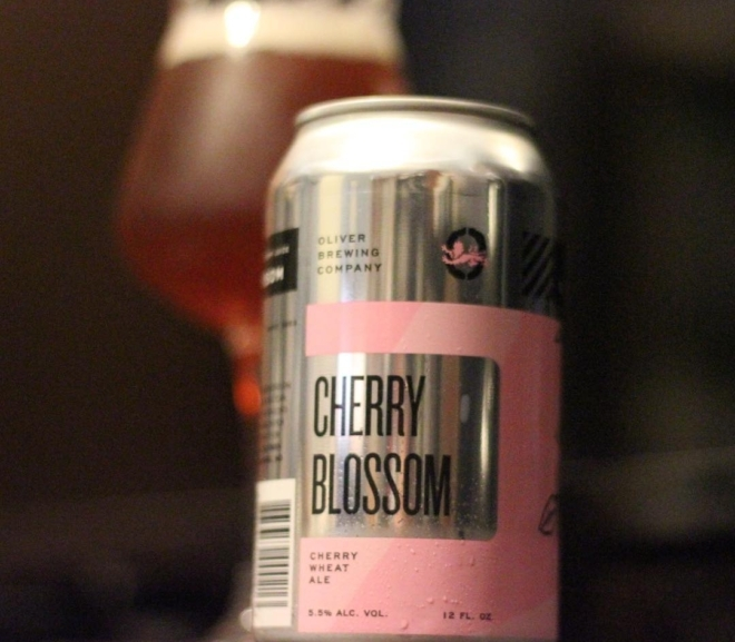 Review: Cherry Blossom by Oliver Brewing Co.