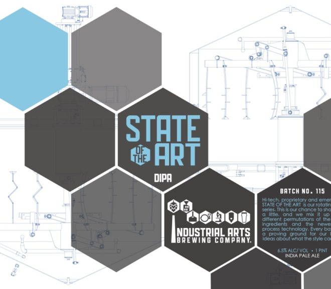 News: Industrial Arts Brewing Co submits 5 beers for label approval (TTB)