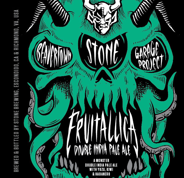 News: Stone Brewing Co submits Fruitallica (DIPA) for label approval (TTB)