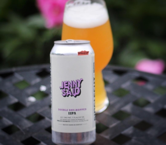 Review: Double Dry-Hopped Jenny Said IIPA by Singlecut Beersmiths