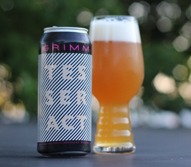 Review: Double Dry Hopped Tesseract by Grimm Artisanal Ales