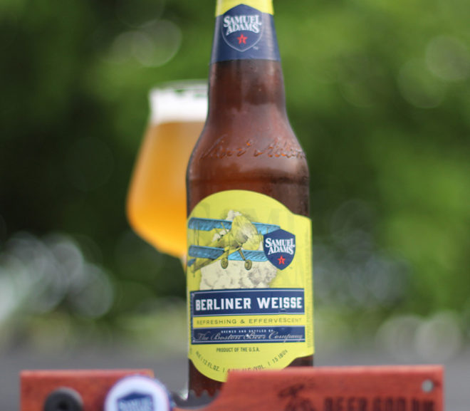 Review: Samuel Adams Berliner Weisse by Boston Beer Co.