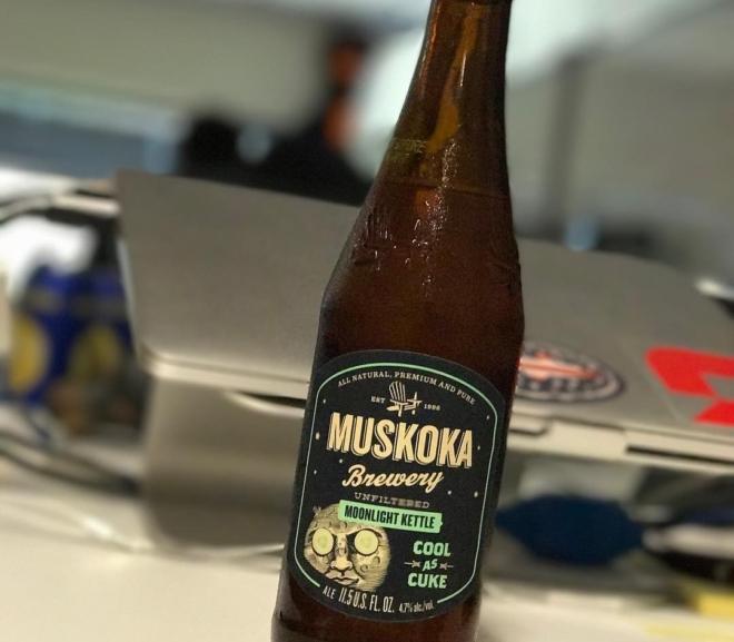 Review: Cool As Cuke (Moonlight Kettle Series) by Muskoka Brewery