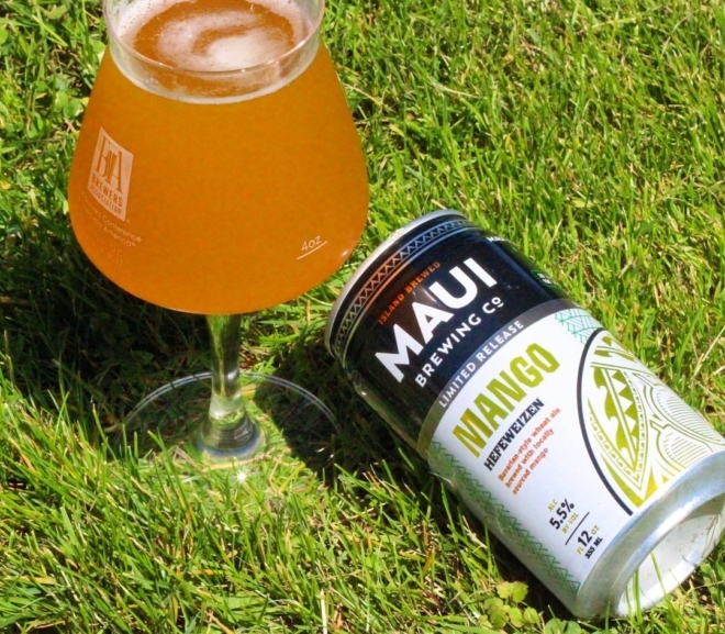 Review: Mango Hefeweizen by Maui Brewing Co.