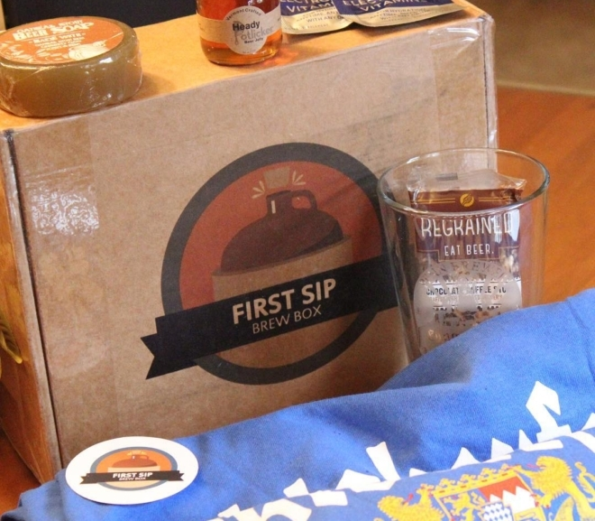 First Sip Brew Box Review/Unboxing