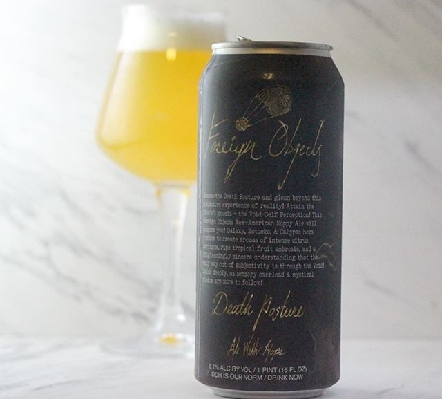 Review: Death Posture DDH IPA by Foreign Objects