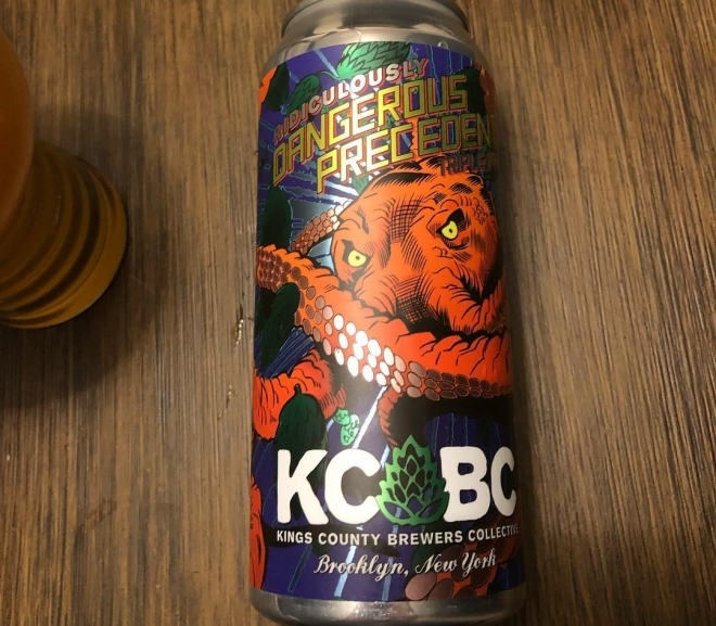 Ridiculously Dangerous Precedent Triple Dry Hopped Triple IPA by Kings County Brewers Collective